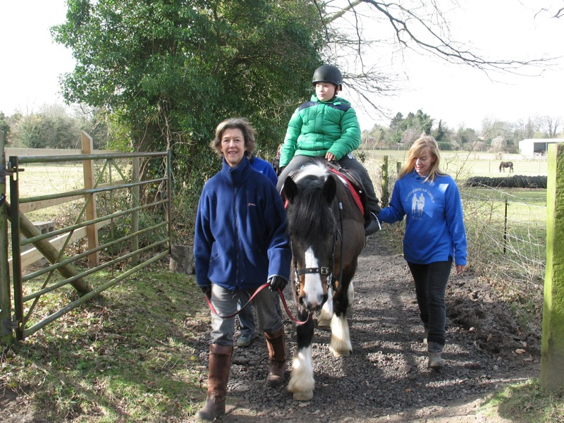Riding out on our new pathway - 3